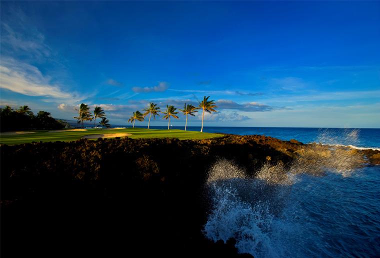 ワイコロア・ビーチ・リゾート・ゴルフコースのビーチコース