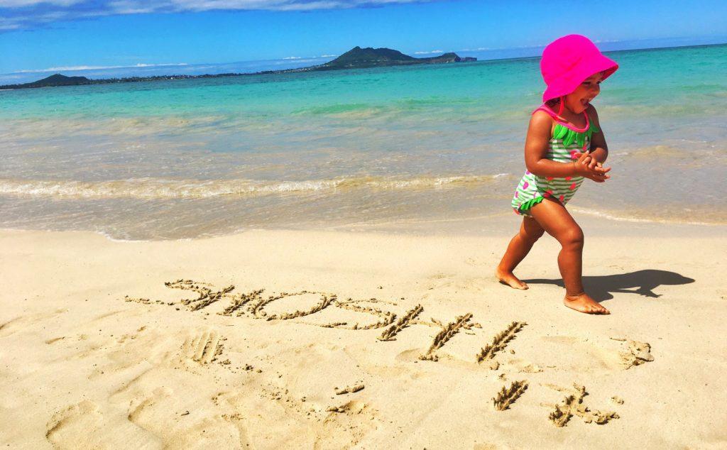 お子様連れのママ必見! ハワイで手に入れたい子供服と水着。