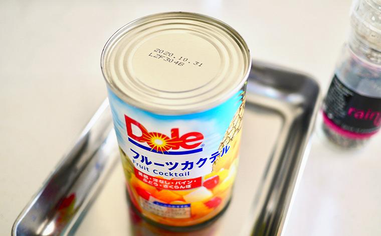 ドールのフルーツカクテル缶詰