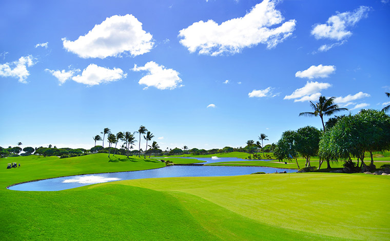 写真提供:<a href='http://www.kapoleigolf.com/jp/' target='_blank'>Kapolei Golf Club</a>