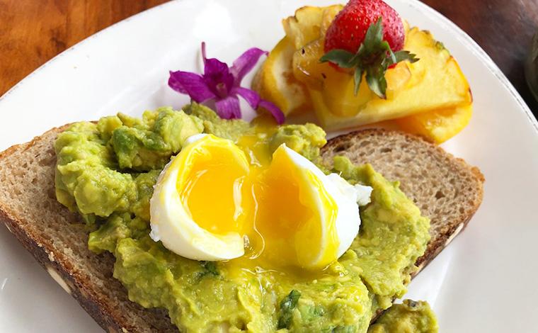 たまたまカフェでいただいた朝食が大のお気に入りに。今回のステイではこの店に3回も通ってしまったのだとか