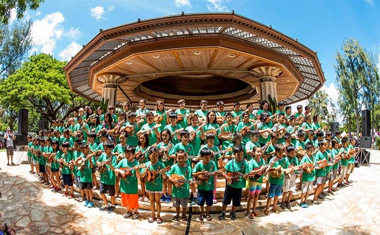 写真提供:Ukulele Festival Hawaii
