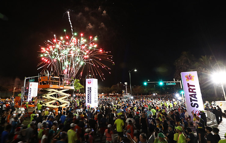 写真提供:Tom Pennington Getty Images for HONOLULU MARATHON