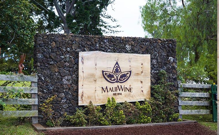 写真提供:Maui Wine